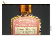 Poison, Circa 1900 Carry-all Pouch