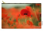 Poppy Flowers 01 Carry-all Pouch