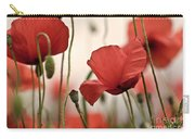 Poppy Flowers 04 Carry-all Pouch