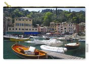 Portofino In The Italian Riviera In Liguria Italy Carry-all Pouch by David Smith