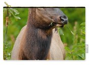 Portrait Of A Bull Elk Carry-all Pouch