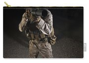 Portrait Of A U.s. Marine In Northern Carry-all Pouch
