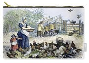 Poultry Yard, 1847 Carry-all Pouch
