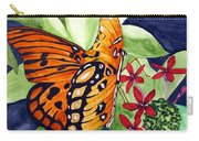 Precocious Butterfly Carry-all Pouch