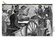 Presidential Campaign, 1876 Carry-all Pouch by Granger