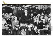 Presidential Campaign, 1936 Carry-all Pouch