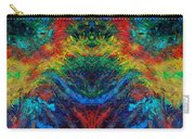 Primary Abstract IIi Design Carry-all Pouch