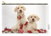 Puppies At Christmas Carry-all Pouch