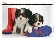 Puppies With Rain Boots Carry-all Pouch