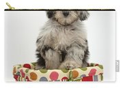 Puppy In A Basket Carry-all Pouch