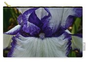 Purple Ruffles Carry-all Pouch