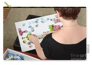 Puzzle Therapy Carry-all Pouch by Photo Researchers, Inc.