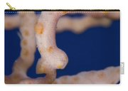 Pygmy Seahorse On Sea Fan, Papua New Carry-all Pouch by Steve Jones