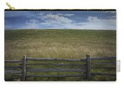 Rail Fence And Field Along The Blue Ridge Parkway Carry-all Pouch