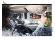 Rear-view Mirror Carry-all Pouch