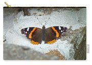 Red Admiral Butterfly - Vanessa Atalanta Carry-all Pouch