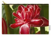 Red Ginger Lily Carry-all Pouch