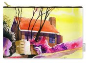 Red House Carry-all Pouch by Anil Nene