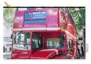 Red London Bus Carry-all Pouch