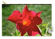 Red Mandevilla Carry-all Pouch