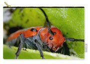 Red Milkweed Beetle Carry-all Pouch