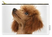 Red Toy Poodle Carry-all Pouch