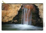 Red Waterfall Carry-all Pouch by Carlos Caetano