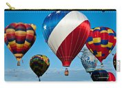 Red White And Balloons Carry-all Pouch