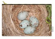 Red-winged Blackbird Nest Carry-all Pouch