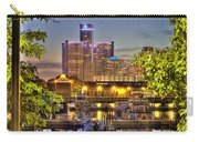 Renaissance Center Detroit Mi Carry-all Pouch