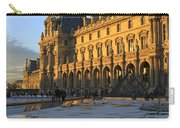 Richelieu Wing Of The Louvre Museum In Paris Carry-all Pouch