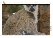 Ring-tailed Lemur Lemur Catta Mother Carry-all Pouch