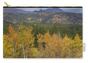 Rocky Mountain Autumn View Carry-all Pouch