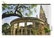 Rotunda Of Illustrious Jalisciences And Guadalajara Cathedral Carry-all Pouch