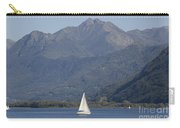 Sailing Boat And Mountain Carry-all Pouch