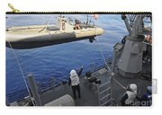Sailors Lower A Rigid Hull Inflatable Carry-all Pouch