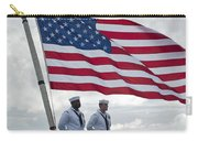 Sailors Stand At Parade Rest Carry-all Pouch