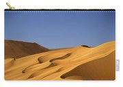 Sand Dune Against Clear Sky Carry-all Pouch