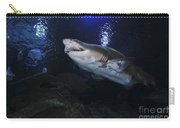 Sand Tiger Shark, Blue Zoo Aquarium Carry-all Pouch