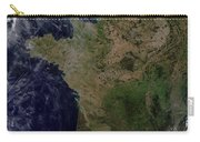 Satellite View Of France Carry-all Pouch