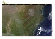 Satellite View Of The United States Carry-all Pouch