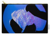 Schlieren Image Of A Balloon Popping Carry-all Pouch