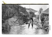Scotland: Fishing, 1880 Carry-all Pouch