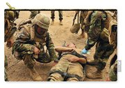 Seabees Conduct A Mass Casualty Drill Carry-all Pouch