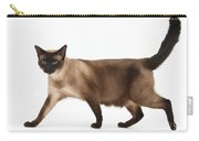 Seal Point Siamese Cat Carry-all Pouch