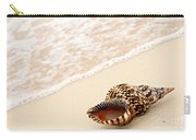 Seashell And Ocean Wave Carry-all Pouch