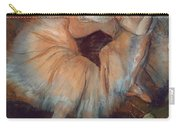 Seated Dancer Carry-all Pouch by Edgar Degas