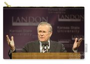 Secretary Of Defense Donald H. Rumsfeld Carry-all Pouch