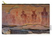 Sego Canyon Indian Petroglyphs And Pictographs Carry-all Pouch