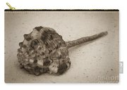 Sepia Shell Carry-all Pouch